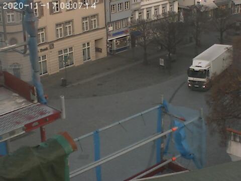 Webcam Ravensburg Marienplatz