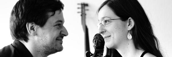 Duo in Re spielt Barockmusik