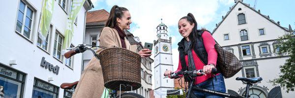 Mit dem Rad in die Stadt