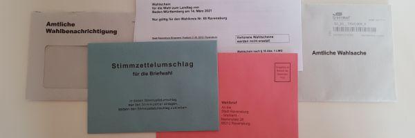 Wahlbriefe Landtagswahl
