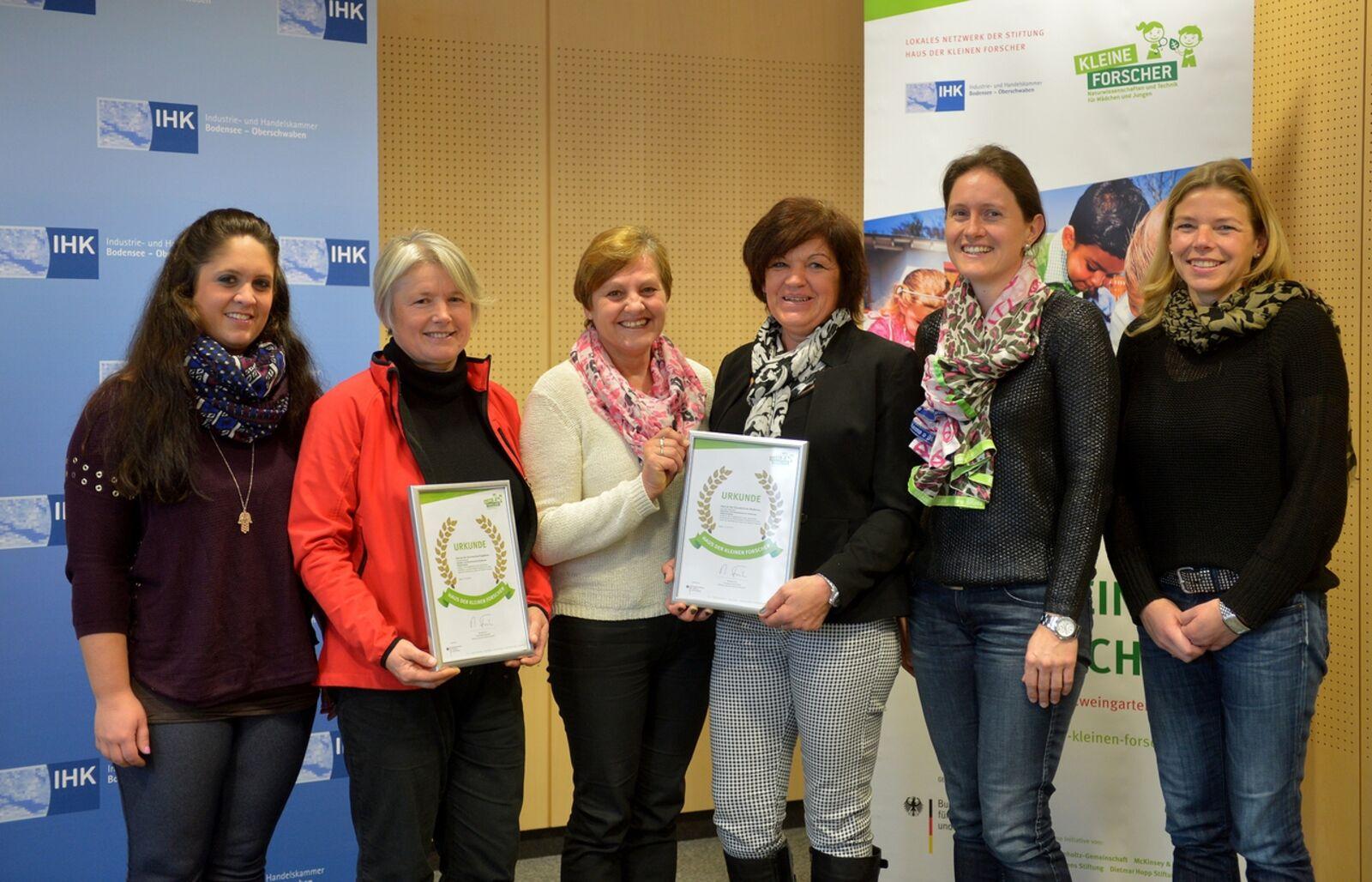 Auszeichnung Fur Zwei Ravensburger Grundschulhorte Stadt Ravensburg