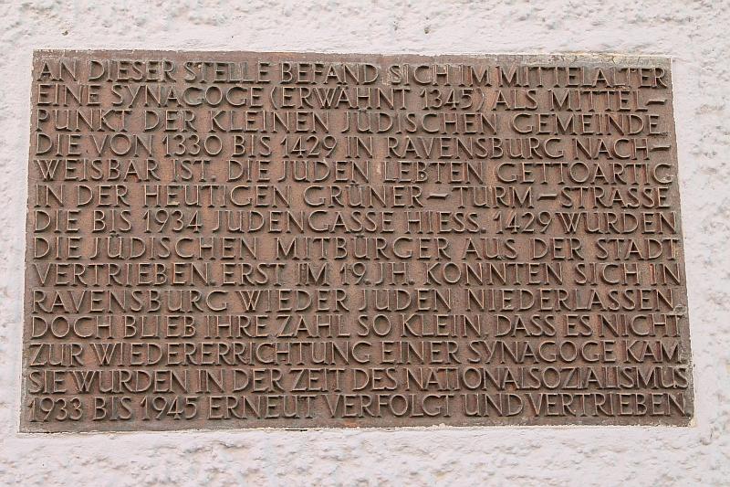 Schild Judengasse Infotext
