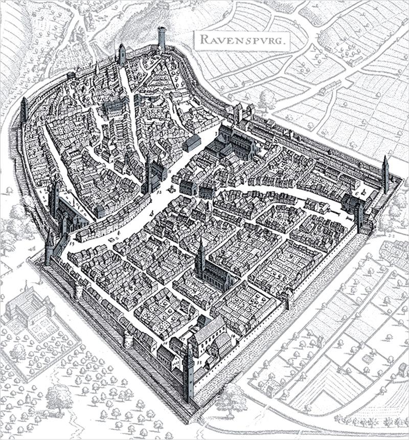 Turme Und Tore Stadt Ravensburg